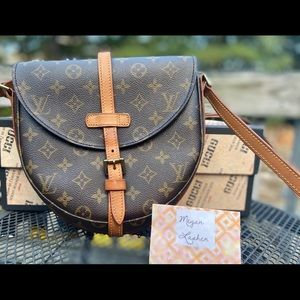 100% authentic Louis Vuitton Chantilly MM